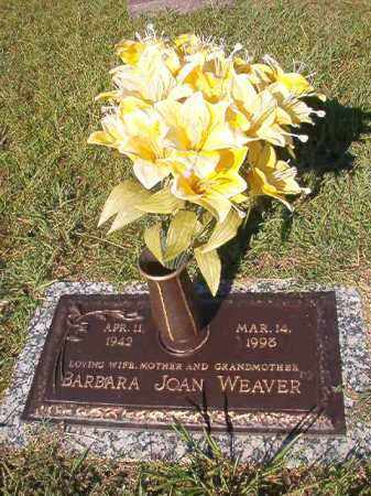 WEAVER, BARBARA JOAN - Faulkner County, Arkansas | BARBARA JOAN WEAVER - Arkansas Gravestone Photos