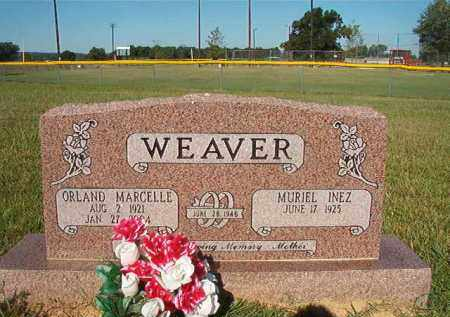 WEAVER, ORLAND MARCELLE - Faulkner County, Arkansas | ORLAND MARCELLE WEAVER - Arkansas Gravestone Photos