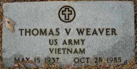 WEAVER (VETERAN VIET), THOMAS V - Faulkner County, Arkansas | THOMAS V WEAVER (VETERAN VIET) - Arkansas Gravestone Photos