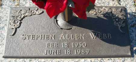 WEBB, STEPHEN ALLEN - Faulkner County, Arkansas | STEPHEN ALLEN WEBB - Arkansas Gravestone Photos