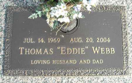 "WEBB, THOMAS ""EDDIE"" - Faulkner County, Arkansas 