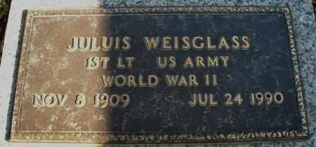 WEISGLASS (VETERAN WWII), JULIUS - Faulkner County, Arkansas | JULIUS WEISGLASS (VETERAN WWII) - Arkansas Gravestone Photos