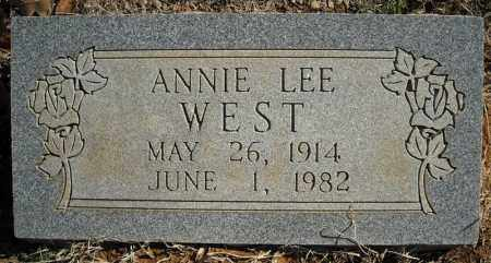 WEST, ANNIE LEE - Faulkner County, Arkansas | ANNIE LEE WEST - Arkansas Gravestone Photos