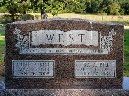 KING WEST, ANNIE P. - Faulkner County, Arkansas | ANNIE P. KING WEST - Arkansas Gravestone Photos