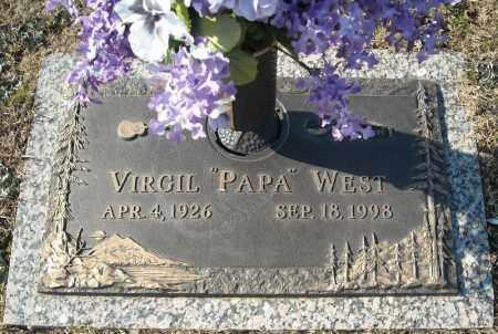 WEST, VIRGIL - Faulkner County, Arkansas | VIRGIL WEST - Arkansas Gravestone Photos