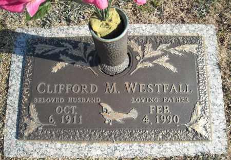 WESTFALL, CLIFFORD M. - Faulkner County, Arkansas | CLIFFORD M. WESTFALL - Arkansas Gravestone Photos