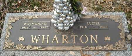 WHARTON, RAYMOND D. - Faulkner County, Arkansas | RAYMOND D. WHARTON - Arkansas Gravestone Photos