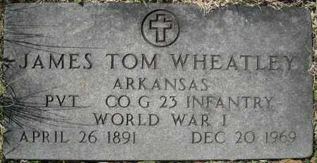 WHEATLEY (VETERAN WWI), JAMES TOM - Faulkner County, Arkansas | JAMES TOM WHEATLEY (VETERAN WWI) - Arkansas Gravestone Photos