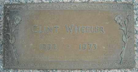 WHEELER, CLINT - Faulkner County, Arkansas | CLINT WHEELER - Arkansas Gravestone Photos