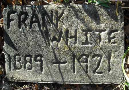 WHITE, FRANK - Faulkner County, Arkansas | FRANK WHITE - Arkansas Gravestone Photos