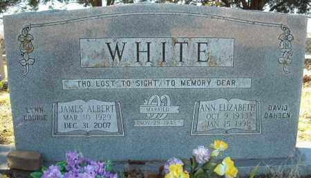 WHITE, ANN ELIZABETH - Faulkner County, Arkansas | ANN ELIZABETH WHITE - Arkansas Gravestone Photos