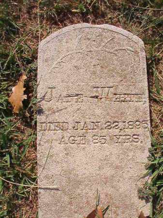WHITE, JANE - Faulkner County, Arkansas | JANE WHITE - Arkansas Gravestone Photos