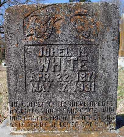 WHITE, JOHEL H. - Faulkner County, Arkansas | JOHEL H. WHITE - Arkansas Gravestone Photos