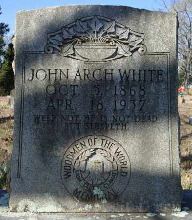WHITE, JOHN ARCH - Faulkner County, Arkansas   JOHN ARCH WHITE - Arkansas Gravestone Photos