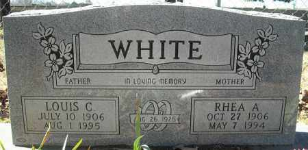 WHITE, LOUIS C. - Faulkner County, Arkansas | LOUIS C. WHITE - Arkansas Gravestone Photos