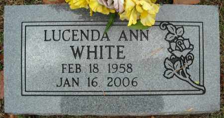 WHITE, LUCENDA ANN - Faulkner County, Arkansas | LUCENDA ANN WHITE - Arkansas Gravestone Photos