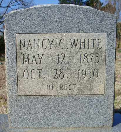 WHITE, NANCY C. - Faulkner County, Arkansas | NANCY C. WHITE - Arkansas Gravestone Photos