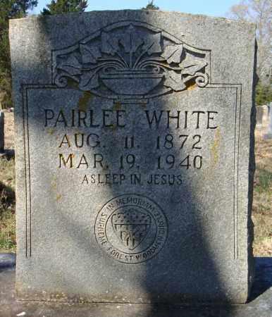 WHITE, PAIRLEE - Faulkner County, Arkansas | PAIRLEE WHITE - Arkansas Gravestone Photos