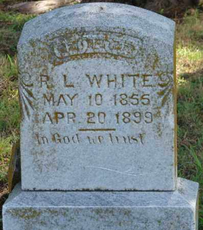 WHITE, R.L. - Faulkner County, Arkansas | R.L. WHITE - Arkansas Gravestone Photos