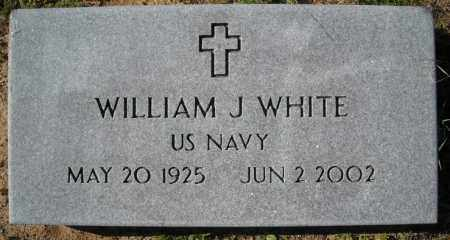 WHITE (VETERAN), WILLIAM J. - Faulkner County, Arkansas | WILLIAM J. WHITE (VETERAN) - Arkansas Gravestone Photos