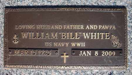 "WHITE (VETERAN WWII), WILLIAM ""BILL"" - Faulkner County, Arkansas 