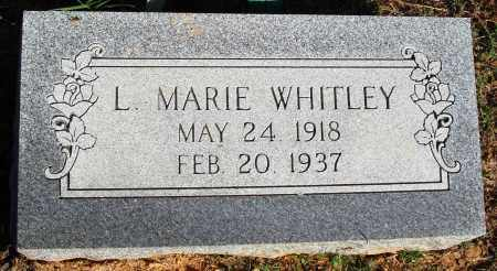 WHITLEY, L. MARIE - Faulkner County, Arkansas | L. MARIE WHITLEY - Arkansas Gravestone Photos