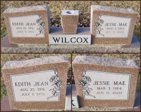 WILCOX, EDITH JEAN - Faulkner County, Arkansas | EDITH JEAN WILCOX - Arkansas Gravestone Photos