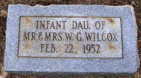 WILCOX, INFANT DAUGHTER - Faulkner County, Arkansas | INFANT DAUGHTER WILCOX - Arkansas Gravestone Photos