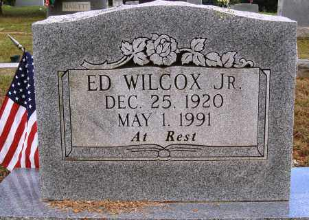 WILCOX JR., ED - Faulkner County, Arkansas | ED WILCOX JR. - Arkansas Gravestone Photos
