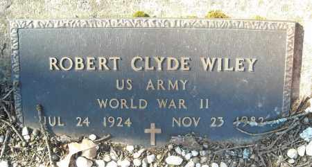 WILEY (VETERAN WWII), ROBERT CLYDE - Faulkner County, Arkansas | ROBERT CLYDE WILEY (VETERAN WWII) - Arkansas Gravestone Photos