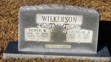 WILKERSON, GEORGIE A. - Faulkner County, Arkansas | GEORGIE A. WILKERSON - Arkansas Gravestone Photos