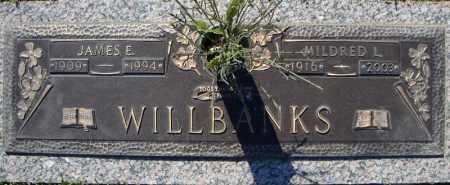 WILLBANKS, JAMES E. - Faulkner County, Arkansas | JAMES E. WILLBANKS - Arkansas Gravestone Photos