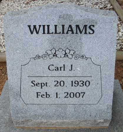 WILLIAMS, CARL J. - Faulkner County, Arkansas | CARL J. WILLIAMS - Arkansas Gravestone Photos