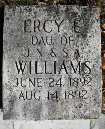 WILLIAMS, ERCY E. - Faulkner County, Arkansas | ERCY E. WILLIAMS - Arkansas Gravestone Photos