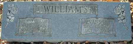 WILLIAMS, EMMA A. - Faulkner County, Arkansas | EMMA A. WILLIAMS - Arkansas Gravestone Photos