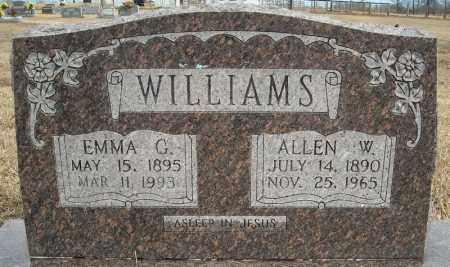 WILLIAMS, EMMA G. - Faulkner County, Arkansas | EMMA G. WILLIAMS - Arkansas Gravestone Photos
