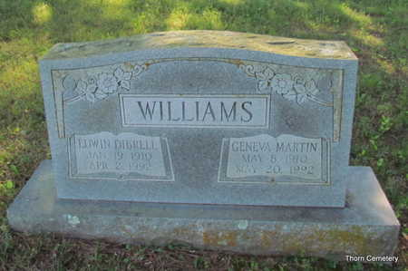 WILLIAMS, EDWIN DIBRELL - Faulkner County, Arkansas | EDWIN DIBRELL WILLIAMS - Arkansas Gravestone Photos
