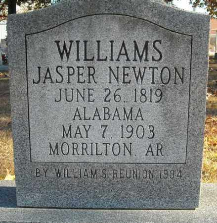 WILLIAMS, JASPER NEWTON - Faulkner County, Arkansas | JASPER NEWTON WILLIAMS - Arkansas Gravestone Photos