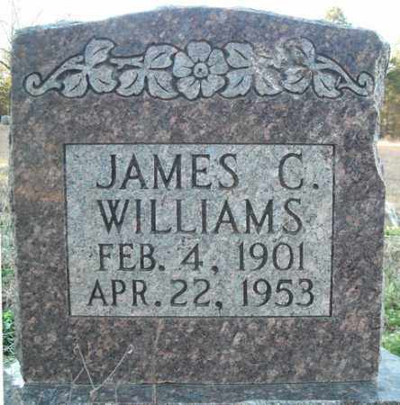 WILLIAMS, JAMES C. - Faulkner County, Arkansas | JAMES C. WILLIAMS - Arkansas Gravestone Photos