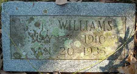 WILLIAMS, J.T. - Faulkner County, Arkansas | J.T. WILLIAMS - Arkansas Gravestone Photos
