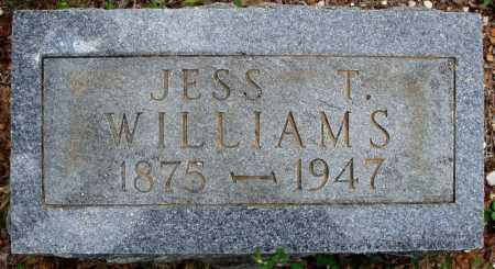 WILLIAMS, JESS T. - Faulkner County, Arkansas | JESS T. WILLIAMS - Arkansas Gravestone Photos