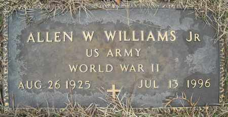 WILLIAMS, JR. (VETERAN WWII), ALLEN W - Faulkner County, Arkansas | ALLEN W WILLIAMS, JR. (VETERAN WWII) - Arkansas Gravestone Photos