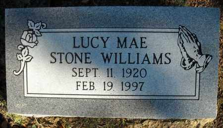STONE WILLIAMS, LUCY MAE - Faulkner County, Arkansas | LUCY MAE STONE WILLIAMS - Arkansas Gravestone Photos