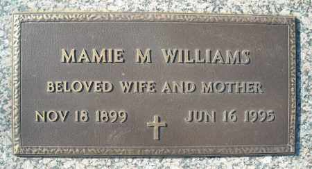 WILLIAMS, MAMIE M. - Faulkner County, Arkansas | MAMIE M. WILLIAMS - Arkansas Gravestone Photos