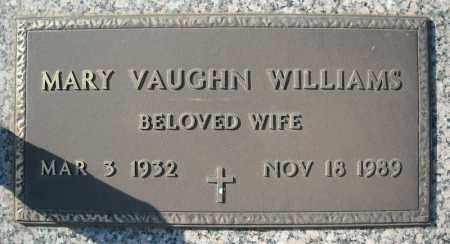 WILLIAMS, MARY VAUGHN - Faulkner County, Arkansas | MARY VAUGHN WILLIAMS - Arkansas Gravestone Photos