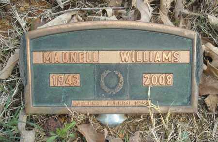 WILLIAMS, MAUNELL - Faulkner County, Arkansas | MAUNELL WILLIAMS - Arkansas Gravestone Photos