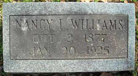 WILLIAMS, NANCY L. - Faulkner County, Arkansas | NANCY L. WILLIAMS - Arkansas Gravestone Photos
