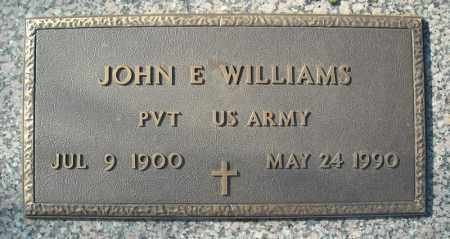 WILLIAMS (VETERAN), JOHN E - Faulkner County, Arkansas | JOHN E WILLIAMS (VETERAN) - Arkansas Gravestone Photos