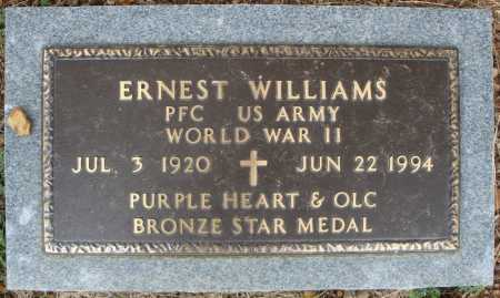 WILLIAMS (VETERAN WWII), ERNEST - Faulkner County, Arkansas | ERNEST WILLIAMS (VETERAN WWII) - Arkansas Gravestone Photos