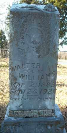 WILLIAMS, WALTER - Faulkner County, Arkansas | WALTER WILLIAMS - Arkansas Gravestone Photos